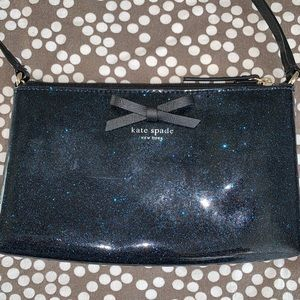 Kate spade like new small sparkly crossbody
